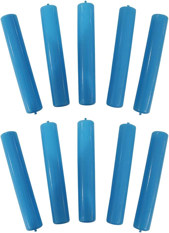 10 Reusable Ice Cube Sticks Freezable Water Bottle Cooling Rods (10 sticks)