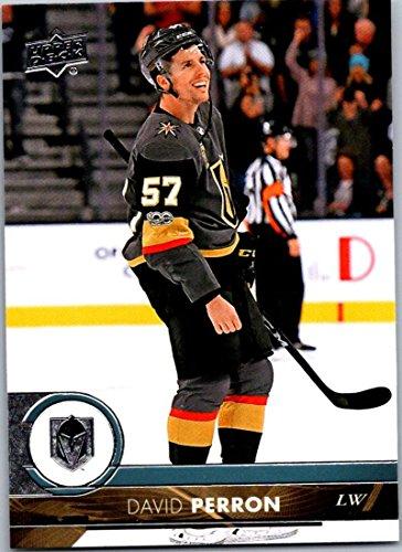 2017-18 Upper Deck Series 2 #431 David Perron Vegas Golden Knights Hockey Card