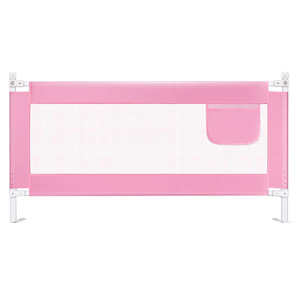 【使い勝手の良い】 ベビーサークル 赤ん坊の男の子の女の子のためのピンクの折り畳み式のベッドの監視柵 (サイズ、クイーンキングサイズベッドのエクストラロングのための調節可能な高さのベッドレール (サイズ B07MZWQ583 さいず 2.0m) : Length 2.0m) Length 2.0m B07MZWQ583, ドレスSHOP グルービー:bd87a524 --- a0267596.xsph.ru