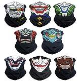 Best Face Shields - Eytan 8 Pcs Different Skull & Clown Face Review