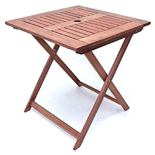 武田コーポレーション/木製デッキ/木製チェア【木製デッキチェア テーブル付き(MA-TAT)】 B079J7YSDD 2チェアサイドテーブル付き