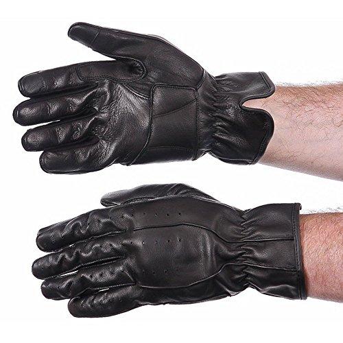 (Tour Master Select Summer 2.0 Men's Street Motorcycle Gloves - Black/Large)
