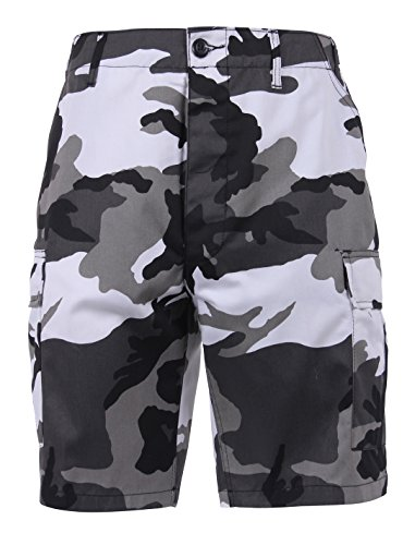Rothco Colored Camo BDU Shorts, City Camo, XL