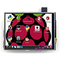 4 inch 320*480 Resistive Touch Screen TFT XPT2046 LCD compatible with Raspberry Pi 1/2/3 Model B B+ A+ Raspbian Video Photo Display System Module @XYG