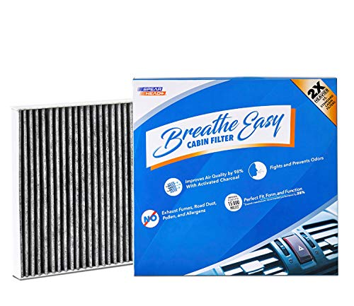 eathe Easy Cabin Filter, Up to 25% Longer Life w/Activated Carbon (BE-668) ()