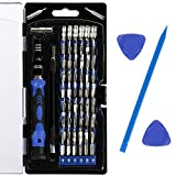 Tools & Hardware : Vastar AC333 Precision Screwdriver Set, 63 in 1 with 56 Magnetic Screwdriver Bits, Repair Tool Kit for iPhone 7/7 Plus, Smartphones, Tablet, PC, Macbook, Clock and More
