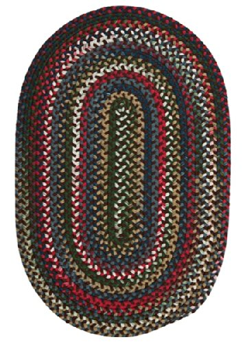 Chestnut Knoll Round Area Rug, 8-Feet, Saddle Brown (Chestnut Knoll Saddle)
