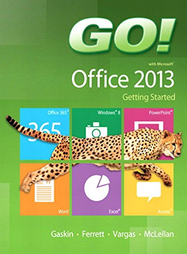 GO! with Microsoft Office 2013 Getting Started Pdf
