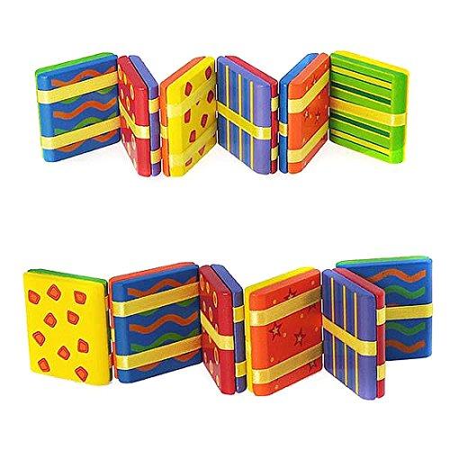 (Wooden Jacob's Ladder MultiColour Patterns - 8 tile version)