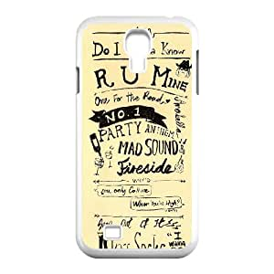 Rock band Arctic Monkey Hard Plastic phone Case Cover For SamSung Galaxy S4 Case ART135078
