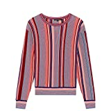 Tara Jarmon Striped Cotton Jumper Women Red