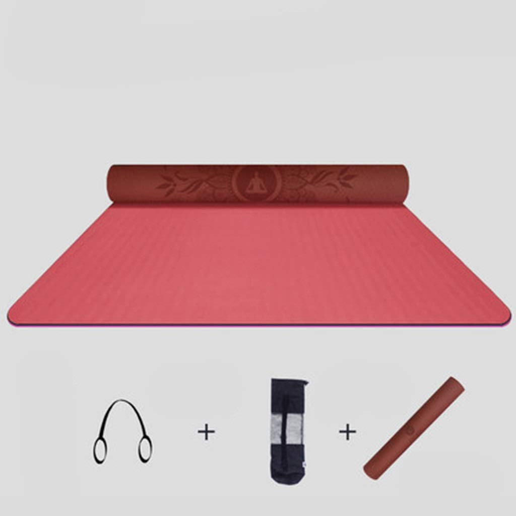 Amazon.com: Yoga Mat 3 Piece Set, Exercise Mats Advanced ...