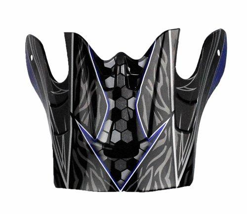Raptor Junior Off-Road Helmet Visor with Helium Graphic (Blue)