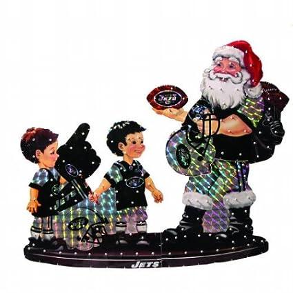 42b690c2 Amazon.com : SC Sports New York Jets Santa and Kids Lawn Figure ...