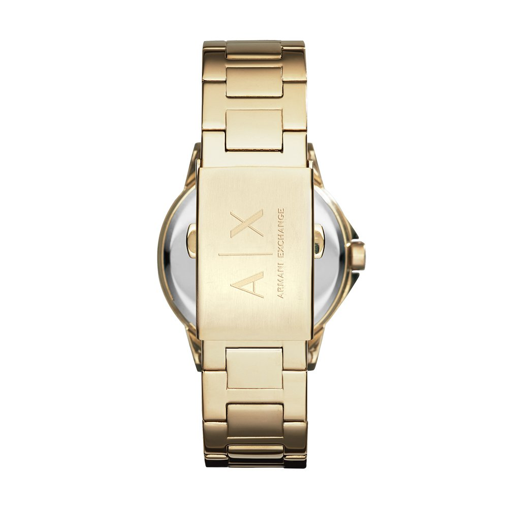 Amazon.com: Armani Exchange Womens AX4321 Gold Watch: Armani Exchange: Watches