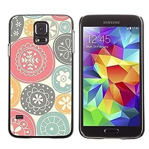 Be Good Phone Accessory // Dura Cáscara cubierta Protectora Caso Carcasa Funda de Protección para Samsung Galaxy S5 SM-G900 // Nature Symbols Art Traditional Positive