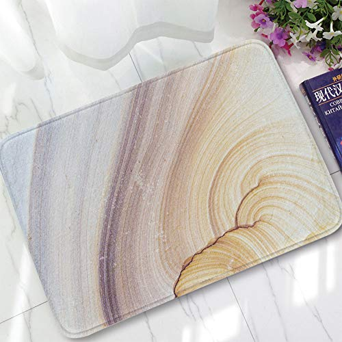 YOLIYANA Water Absorption Non-Slip Mat,Marble,for Corridor Study Room Bathroom,15.75