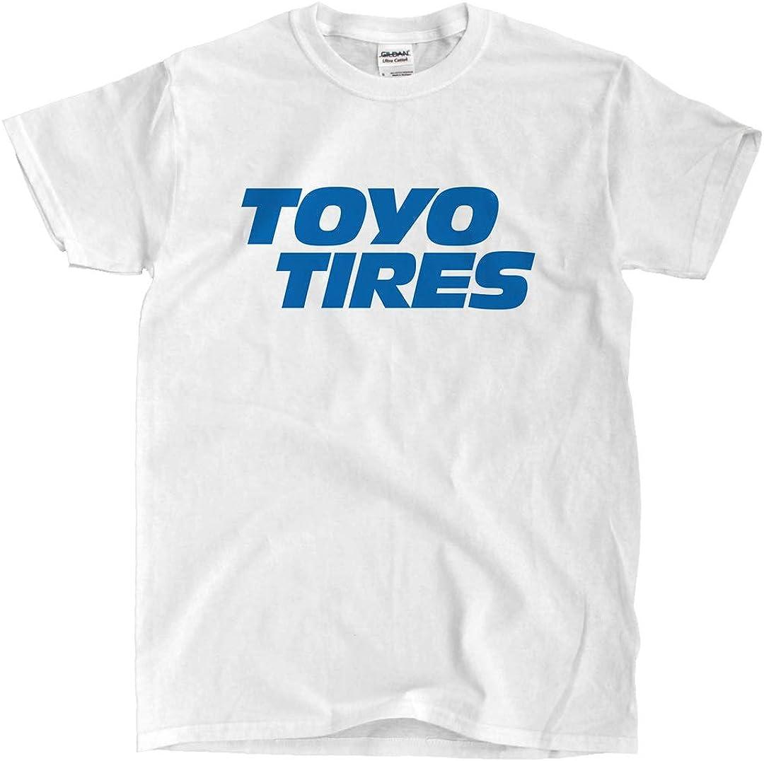 CottonMob Toyo Tires Logo White Shirt