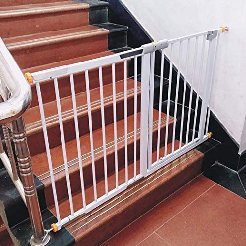 (GLXZ Pet Gates for Dogs Extra Wide, Free Punch Indoor Balcony Security Door Fence, Pet Dog Fence, Isolation Baby Child Baby Stair Fence,Gate(76~83cm))