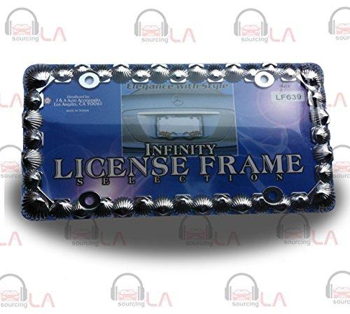 shell license plate frame - 2