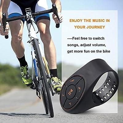 MeiTeAi - Mando a Distancia Bluetooth para Coche, inalámbrico ...
