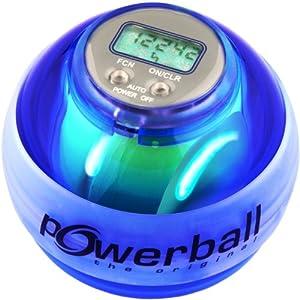 Powerball the original® Max Blau, mit Digital-Drehzahlmesser und 6 LEDs