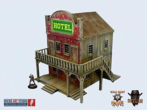 Western Hotel Miniature Terrain Micro Arts Studio