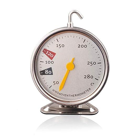 Termómetro para horno, forma de reloj, termómetro para hornear ...
