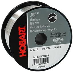 Hobart H383808-R18 1-Pound ER5356 Aluminum Welding Wire, 0.035-Inch