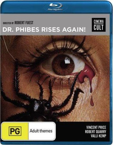 Blu-ray : Dr Phibes Rises Again (Australia - Import)