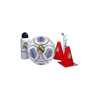 Real Madrid - Set de entreno (Accesorios Deportivos): Amazon.es: Juguetes y juegos