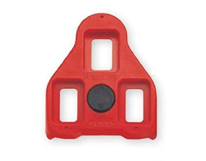 897625d8fea Image Unavailable. Image not available for. Color  Exustar Red 9 Degree  Float Look Delta Compatible Cleats