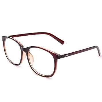 e77ee7f590 Jcerki Oversize Frame Nearsighted Glasses-2.00 Strength Short Sighted Men  and Women Lightweight Myopia Spectacles
