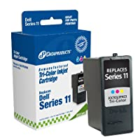 Dataproducts DPCD453 Remanufactured High Yield Ink Cartridge Replacement for Dell KX703/JP453 (Color)