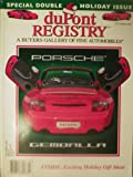 DuPont Registry Magazine December 2004 Porsche Gemballa (Single Back Issue)