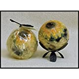"Habersham Sunflower Lemon Vanilla - 4"" Regular Sphere"