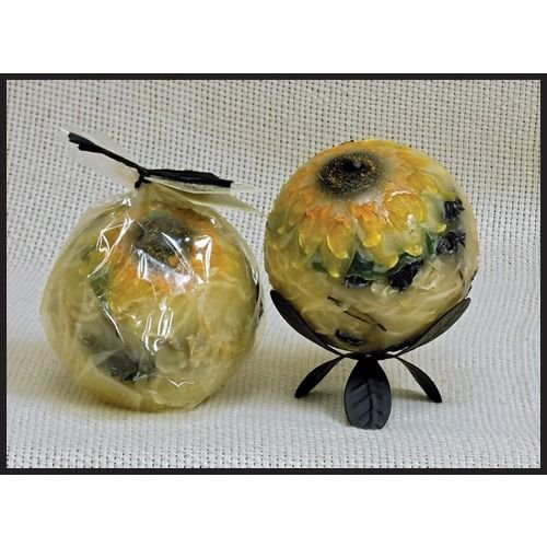 Habersham Sunflower Lemon Vanilla - 4'' Regular Sphere