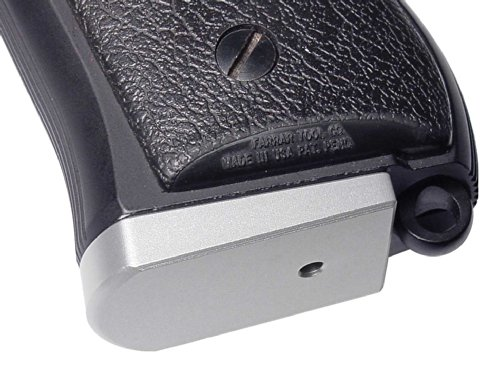 - Beretta 92 96 INOX Magazine Base Plate Silver NDZ - Plain