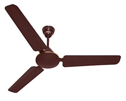 Usha Technix 1200mm 5 Star Ceiling Fan Without Regulator Rich Brown