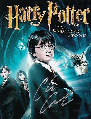 Chris Columbus Signed Harry Potter Movie Director 8x10 Poster Photo