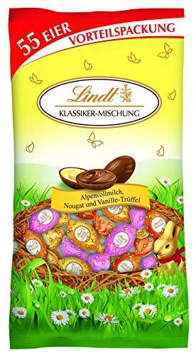 Lindt XXL Osterbeutel Klassik, Vorteilspack mit einer Eier-Mischung zu Ostern, 288 g