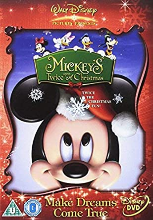 Mickey Mouse Twice Upon A Christmas Dvd.Mickey S Twice Upon A Christmas Dvd Amazon Co Uk Dvd