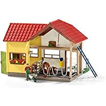 Schleich Farm with Animals and Accessories Playset