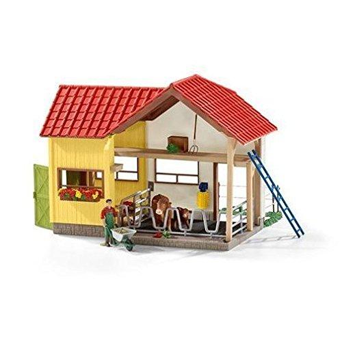 Schleich Farm with Animals and Accessories Playset (Farm Big Barn)
