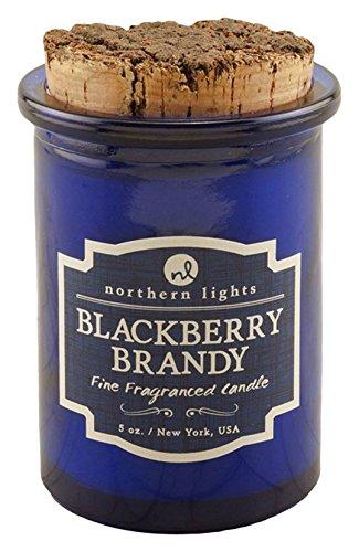 Northern Lights Candles Spirit Jar Candle, 5 oz, Blackberry Brandy 52602