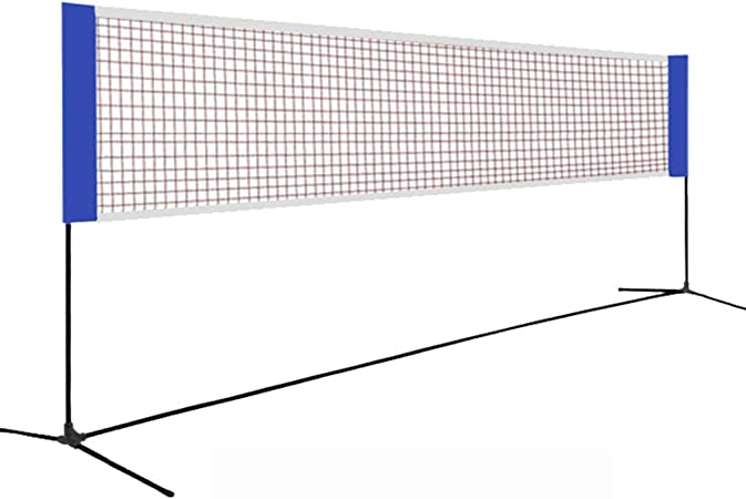 Sports Combo Net Adjustable Height Portable Badminton Net Set Designed For All Weather Conditions Tennis Net System Easy Quick Setup Assembly Nylon Sports Net Amazon Co Uk Kitchen Home