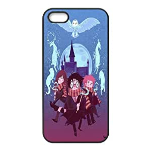 [QiongMai Phone Case] For Apple Iphone 5 5S Cases -Harry Potter Pattern-Case 17