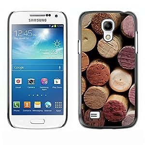 Print Motif Coque de protection Case Cover // V00001994 corcho del vino // Samsung Galaxy S4 Mini i9190