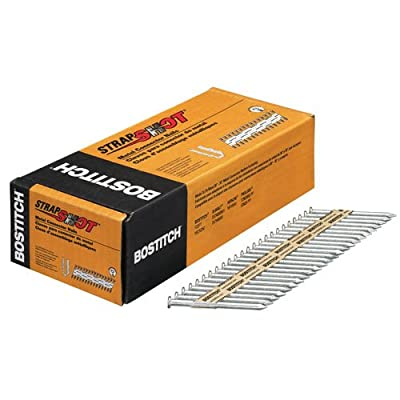 BOSTITCH PT-MC14825G.5M Paper Tape Collated Metal Connector Nails (Pack of 500) by Stanley Tools