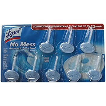 Amazon Com Lysol No Mess Automatic Toilet Bowl Cleaner